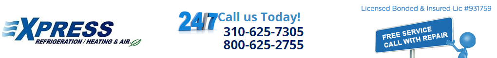 call the number (310) 625-7305 to get our express service!